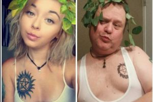 These Parents Take Far Cooler Selfies Than Their Kids Do
