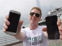 iPhone 5 vs Samsung Galaxy S3 Drop Test, which one will win?