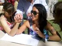 Women arm Wrestling Gone totally wrong