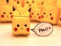 Make Your Own An Awesome Origami Pikachu