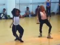 These Girls Are Like 10... Dancing Better Than Most Grown Women...