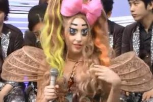 Guess who is in that awsome and cute costume in Japan?
