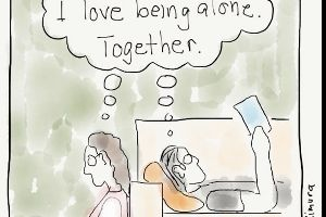 Introverted Artist Illustrates His Issues Using Simple Comics