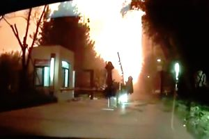 Terrifying New Dashcam Footage Of The Massive Chinese Explosion