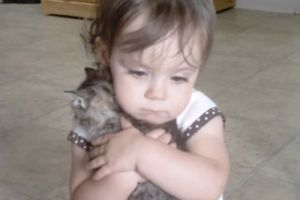 She Loves Her New Kitten So Much, She`s Not Letting Anyone Touch Him...EVER