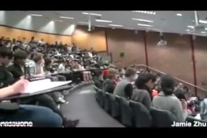 Dude Gets Caught Watching Porn In Class