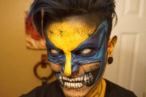 Artist brings comics to life with insane makeup skills (23 Photos)