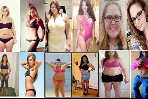 Incredible Female Body Transformations - Inspiration for those trying to lose weight!!