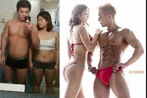 This Couple`s Body Transformation is Your Next Relationship Goal