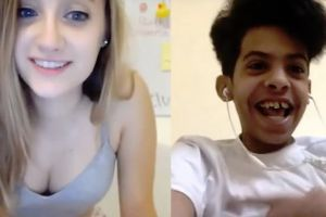 Teen living in Saudi Arabia could spend 3 years in prison after flirting with an American girl over video chat online goes viral!