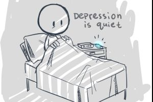 DEPRESSION: Everyone has it at least once in their life and here is what dealing with depression is like