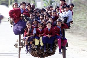 The most incredible journeys to school in the world