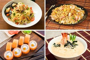 What kind of food can you eat with $30 in other country?