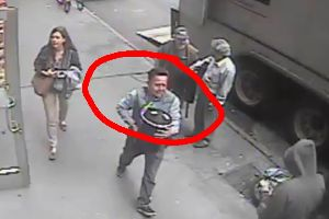 Thief Casually Steals 86 Pound Bucket Of Gold Flakes Worth $1.6 Million From An Armored Truck