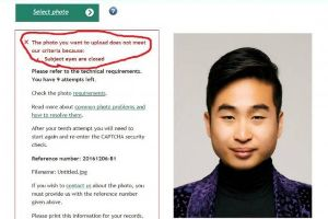 Taiwanese Guy Got His Passport Rejected by New Zealand Embassy Because They Think His Eyes Are Closed. Are They?