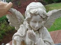 Creepy secret hidden in Angel statue