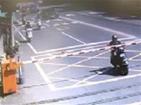 Scooter VS. Crossing Gate