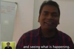 Hilarious Indian Guy First Time Skype Interview