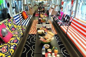 This is SO COOL! Japan monorail turns into an awesome place to travel with Ikea crap (7 pics)