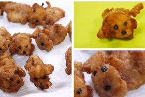 Japanese food blogger makes fried chicken poodles: `They`re too cute to eat!`