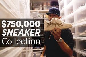 Just when you thought your sneaker collection was looking good, Mark `Mayor` Farese comes through with a mind boggling 3,000 pair, $750,000 collection!