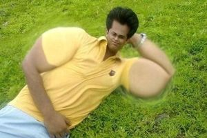 20 Guys Who Photoshopped Their Muscles Way Too Hard! #5 Is like a Alien