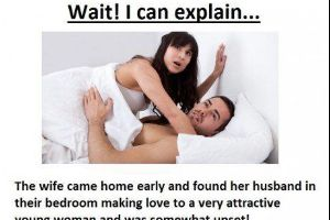 Husband Owns His Wife After Being Caught Cheating