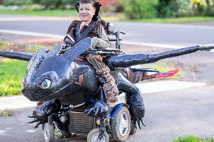 Awesome Dad Makes Amazing Halloween Costumes For Kids In Wheelchairs