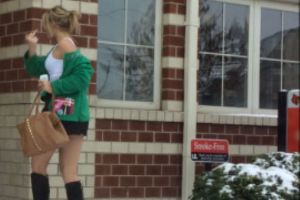 40 Party Girls Caught Taking The Walk Of Shame!