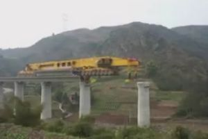 This is how they #build #bridge in #China. Pretty #cool to watch.