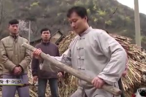 Monk Breaks Stick with His Bare Hands. So Cool!