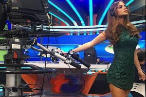 Another Smoking Hot Mexican News Reporter!