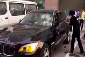 Wife destroys cheating husband`s luxury BMW with hammer