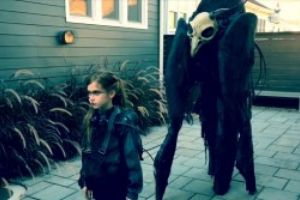 Father And Daughter Epic Dystopian Halloween Costume