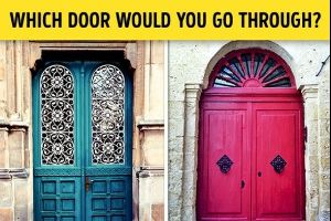 Test: Choose a Door and We will Reveal Your True Personality