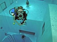 The World`s Deepest Swimming Pool