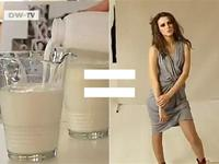 Fashion clothes are made from milk; yes, the white drinkable stuff