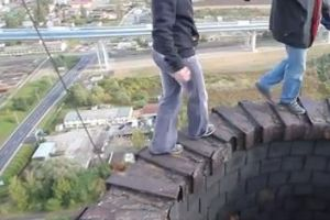 Insane way to cure fear of heights!