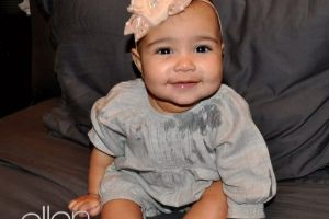 Never expect Kim and Kanye`s daughter would be this cute!!! Does anyone care? (4 pics)