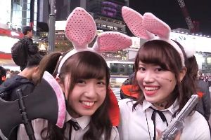 Halloween Street Party in Japan! It may be tamer than Halloween in the states