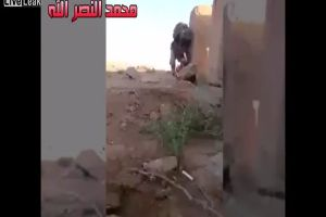 Smart Soldier Uses Ingenious Trick To Escape ISIS Sniper
