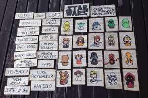 13 Year Old Girl Creates Epic Star Wars Game For Her Friend`s Birthday (22 pics)