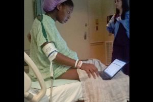 Multi-Tasking College Student Extraordinaire Takes Exam While She`s in Labor