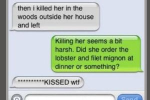 15 Of The Craziest First Date Texts