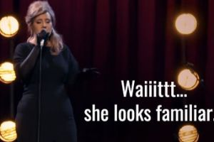 Adele Disguised As An Adele Impersonator Surprises Other Adele Impersonators