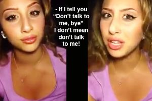Girl Breaks Down What `Don't Talk To Me` Means -- As expected it`s very complicated!