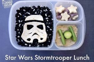 Awesome Dad of the Day Uses the Force to Make Healthy `Star Wars` Lunchboxes for His Kids