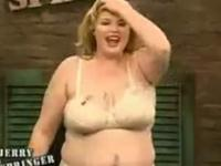 Hilarious Fat Woman On Jerry Springer!!