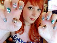 Super Awesome Nerdy Nails