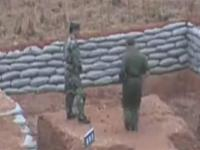Chinese Army rookie FAIL grenade throwing - saved by his captain